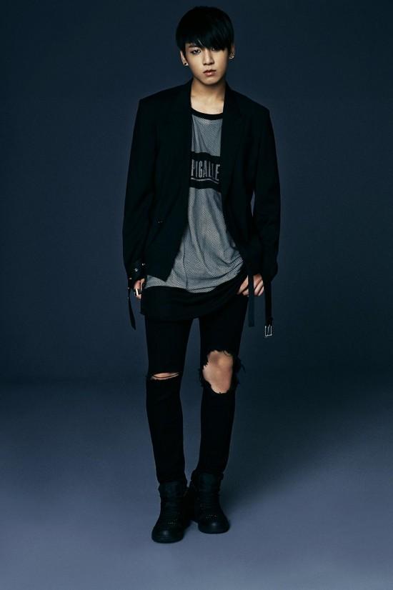 Jungkook 'Dark and Wild' concept photo