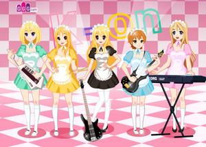 K-on Maids Blonde