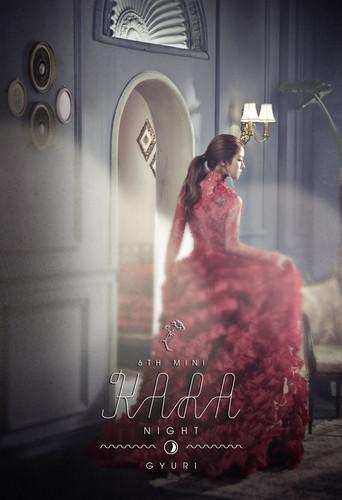 KARA 바탕화면 containing a bridesmaid called KARA Gyuri 'Day & Night' Teaser 2 HQ