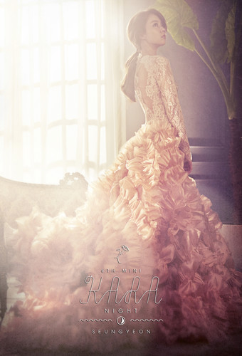 KARA 바탕화면 possibly with a bridesmaid and a 겉옷, 가운 called KARA Seungyeon 'Day & Night' Teaser 2 HQ