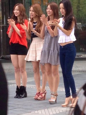 KARA recording for 'A Song for You'