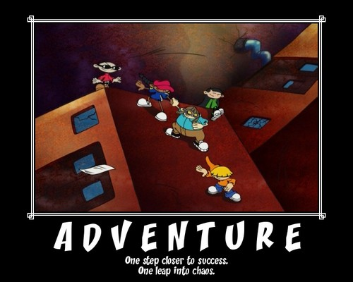 Codename: Kids successivo Door wallpaper titled KND Motivational