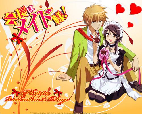 Kaichou wa Maid-sama wallpaper possibly with anime called Kaichou Wa Maid Sama!