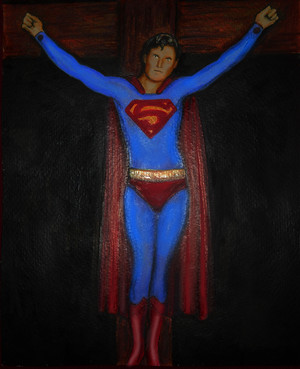 Kal-el on a kruis door Bart Schechinger