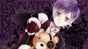 Kanato, Teddy and a red rose