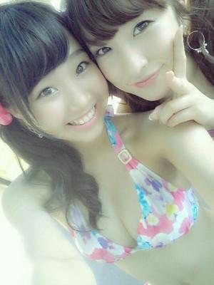 Kato Yuuka and Umeda Ayaka