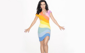 Katy Perry prismatic toor shoot