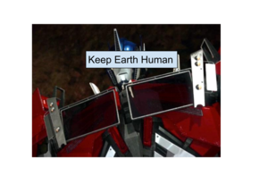 Keep Earth Human