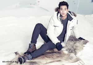 Kim Soo Hyun for BEANPOLE OUTDOOR F/W 2014 Lookbook