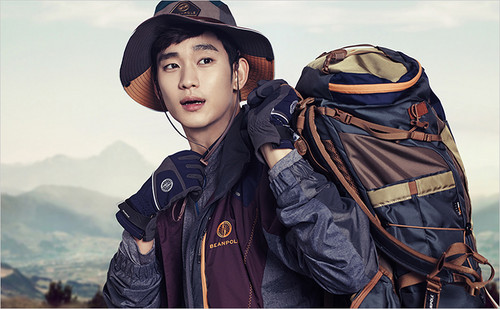 Kim SooHyun wallpaper called Kim Soo Hyun for BEANPOLE OUTDOOR F/W 2014 Lookbook