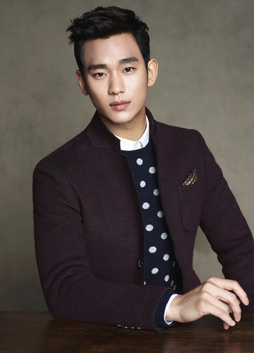 Kim SooHyun wallpaper with a well dressed person titled Kim Soo Hyun for ZIOZIA Fall 2014 Ad Campaign