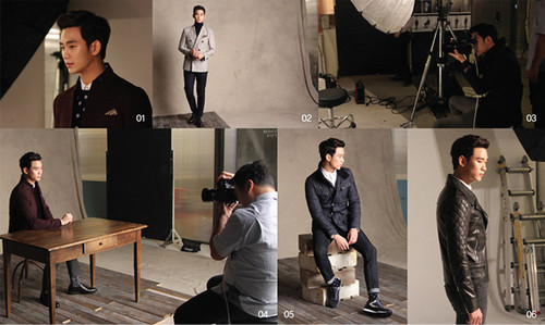 Kim SooHyun wallpaper entitled Kim Soo Hyun for ZIOZIA Fall 2014 Ad Campaign
