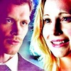 The Vampire Diaries photo with a portrait called Klaus and Caroline
