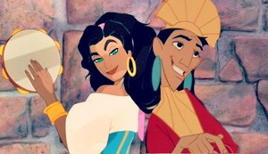 Kuzco and Esmeralda Crossover