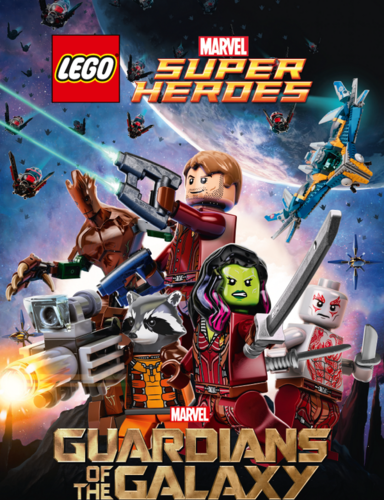 Guardians of the Galaxy 바탕화면 containing 아니메 titled LEGO Guardians of the Galaxy Poster