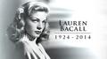 Lauren Bacall, 12th August 2014