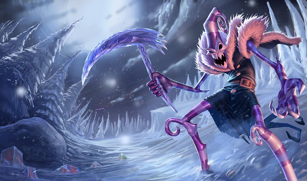 League Of Legends Dark Candy Fiddlesticks Wallpaper