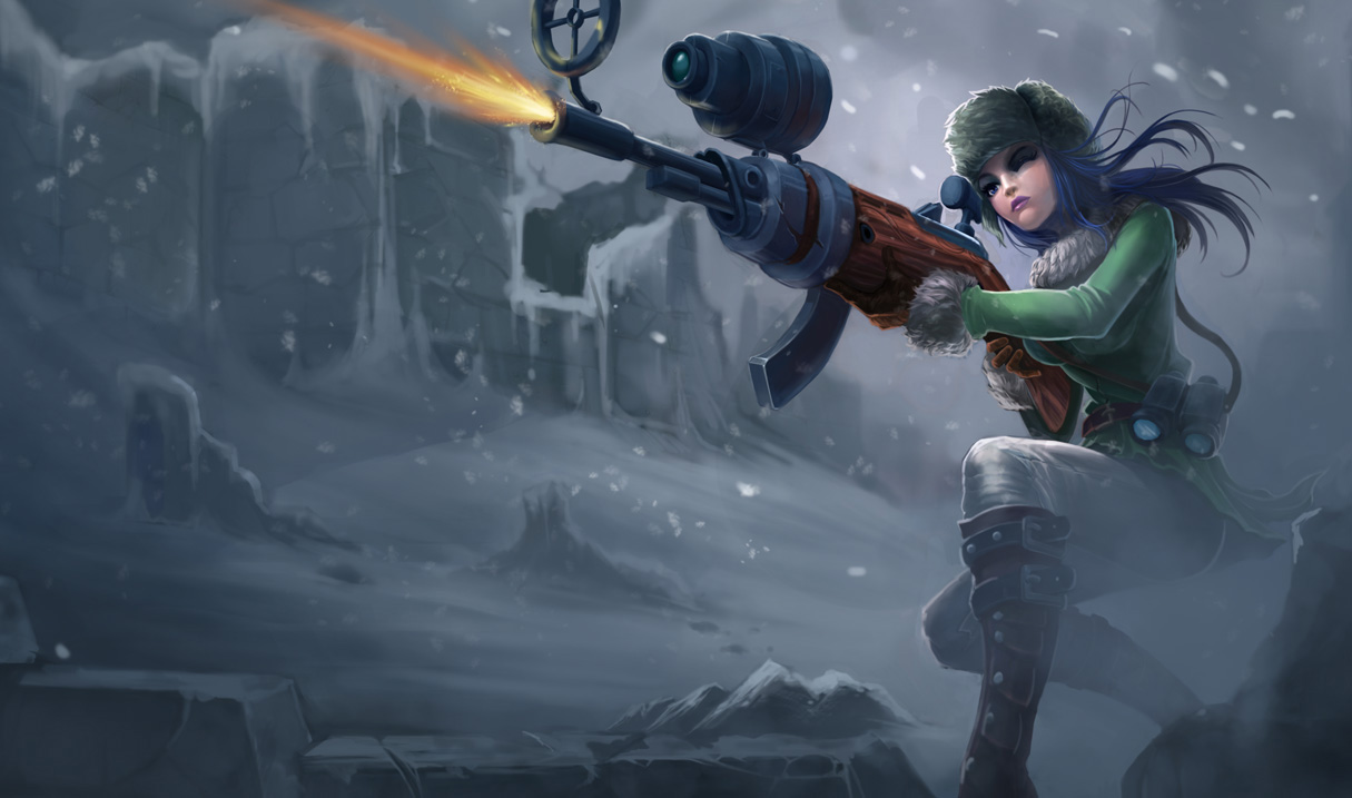 League Of Legends Caitlyn League of Legends Photo 37467935