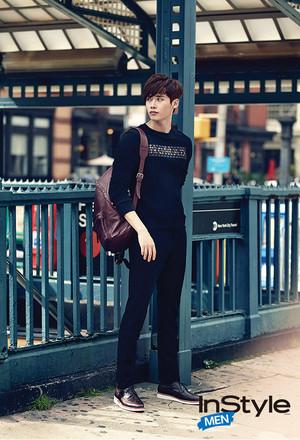 Lee Jong Suk for 'InStyle' September Issue