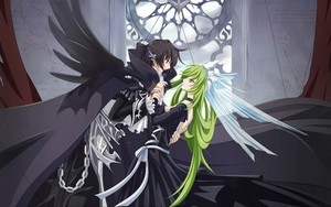 Lelouch vi Britannia and C.C. | CODE GEASS: Lelouch of the Rebellion