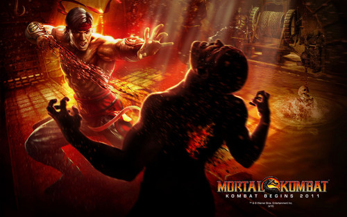 Mortal Kombat kertas dinding possibly with a konsert entitled Liu Kang