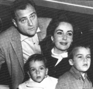 Liz Taylor-Mike Todd (third husband)