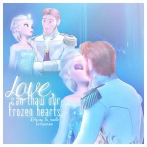 tình yêu can thaw our Nữ hoàng băng giá hearts