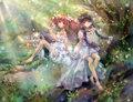 Madoka Kaname and Homura Akemi | Puella Magi Madoka Magica - anime fan art