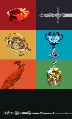 harry potter wallpaper entitled Magical objects