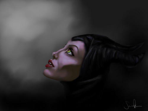 Maleficent achtergrond entitled Maleficent