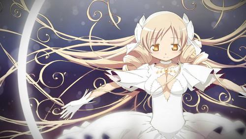 Mahou Shoujo Madoka Magica Hintergrund called Mamikami is better than Madokami