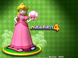 Mario Party 4 peach, pichi
