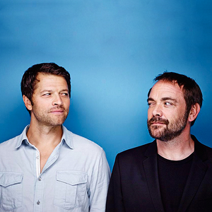 Mark Sheppard and Misha Collins ❤