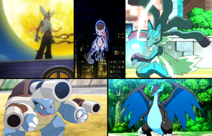 Mega Evolutions wolpeyper