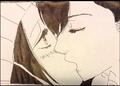 Mei X Yamato - anime fan art