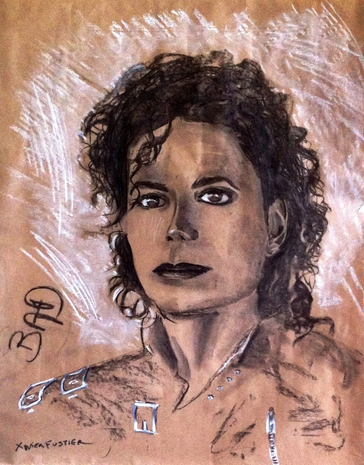 Michael Jackson 1987 BAD