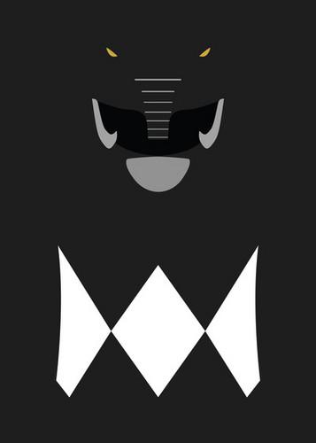 The Power Rangers Wallpaper Called Mighty Morphin Black Ranger