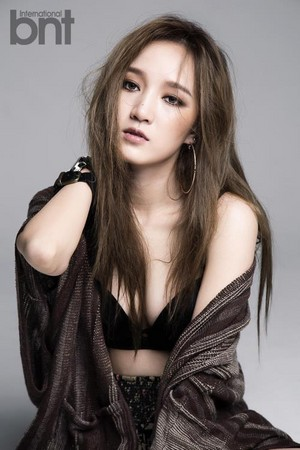 Miss A Jia – BNT International August Issue