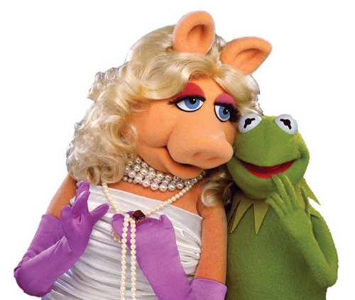 The Muppets wallpaper called Miss Piggy and Kermit