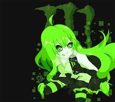 Monster Energy Anime girl.