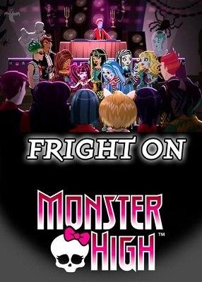 Monster High: Fright On (DVD)