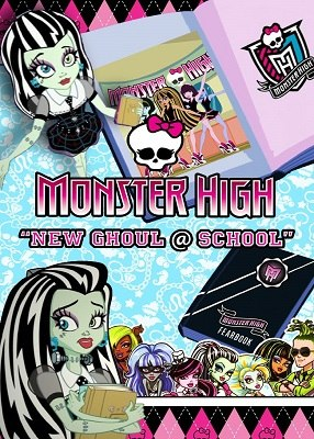 Monster High: New Ghoul @ School (DVD)