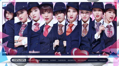 Girls Generation/SNSD wallpaper probably containing a business suit called Mr.Mr. Wallpaper