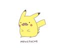 Mustache Pikachu  - pokemon photo