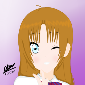 My anime OC finalized