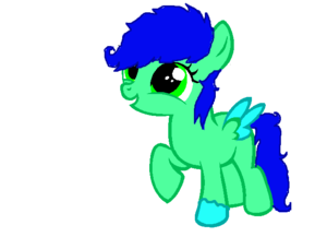 My persona as a filly.