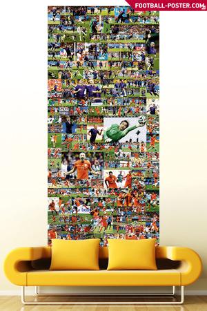 NETHERLANDS NATIONAL TEAM huge poster