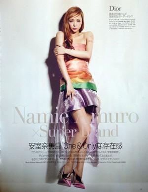 Namie Amuro Glamorous April 2013