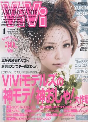 Namie Amuro January 2013 ViVi