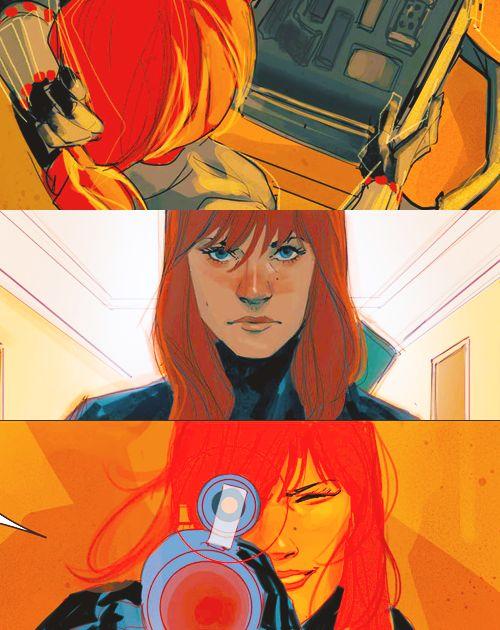 Natasha Romanoff Marvel Comics Fan Art 37401266 Fanpop